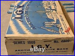 Marx I. G. Y. Arctic Satelllite Base Set Series 1000 Box#4800
