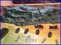Marx Invasion Day Miniature Play Set With Box