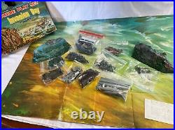 Marx Invasion Day World War II Rare Vintage 1950's Miniature Playset