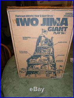 Marx Iwo Jima 4314 playset 100% Complete