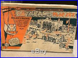 Marx John Wayne The Alamo Play Set Box#3543