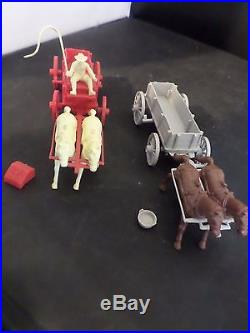 Marx Johnny Ringo Western Frontier Play Set Box Not Complete