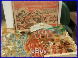 Marx Johnny Tremain Revolutionary War Play Set # 3402 Series 1000 with box Rare
