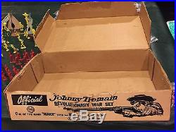 Marx Johnny Tremain Revolutionary War Play Set Series 1000 Box#3402