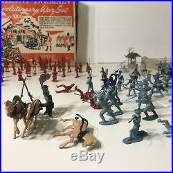 Marx Johnny Tremain Revolutionary War Play Set Series 1000 Incomplete 1950s