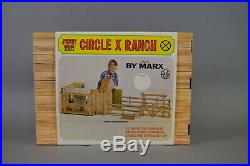 Marx Johnny West Circle X Ranch (Mint in Box)