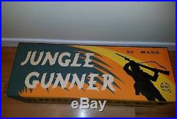 Marx Jungle Gunner set playset NEW FACTORY SEALED UNOPENED army soldier gun