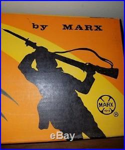 Marx Jungle Gunner set playset NEW FACTORY SEALED UNOPENED army soldier gun