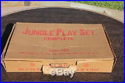 Marx Jungle Playset & Box