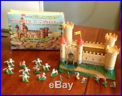 Marx KNIGHTS AND CASTLE Miniature Playset