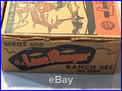 Marx Lone Ranger Ranch Play Set Series 500 Box#3969