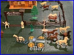 Marx Lone Ranger Ranch Set Series 500 Box#3969