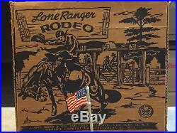 Marx Lone Ranger Rodeo Play Set Box#3696