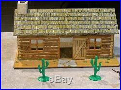 Marx Lone Ranger Rodeo Play Set With Box