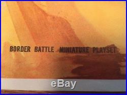 Marx Miniature Border Battle Playset Mat