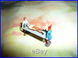 Marx Miniature Covered Wagon Attack Playset
