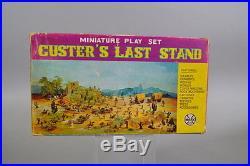 Marx Miniature Custer's Last Stand Playset