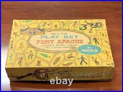 Marx Miniature Fort Apache Play Set