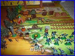 Marx Miniature Fort Apache Playset