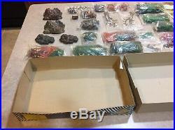 Marx Miniature Jungle Play Set & Box Rare
