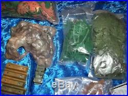 Marx Miniature Jungle Play Set & Box Rare # 48 24395