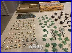 Marx Miniature Play Set Charge Of The Light Brigade With Box