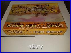 Marx Miniature Playset Charge of the Light Brigade EXTREMELY RARE MINT war toys
