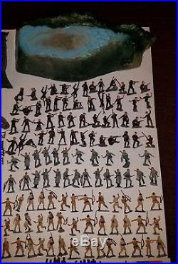 Marx Miniature Playset Invasion Day EXTREMELY RARE MINT military soldiers war