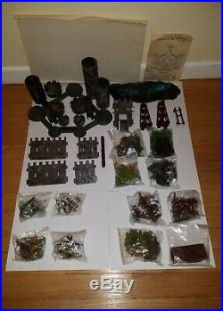 Marx Miniature Playset Knights and Vikings EXTREMELY RARE MINT NEW OLD STOCK