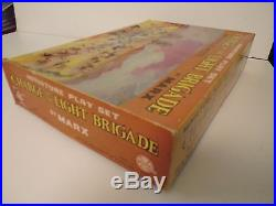 Marx Miniatures Charge of the Light Brigade Play Set