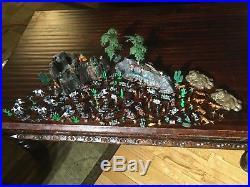 Marx Miniatures Custer's Last Stand Vintage Play Set Rock Hills 1960s Indians