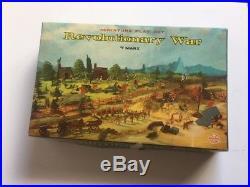 Marx Miniatures Revoluntionary War Playset