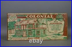 Marx Modern Colonial Doll House Rare Factory Sealed # 4045 S