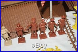 Marx Montgomery Happitime Fort Apache Famous Americans Playset BIN