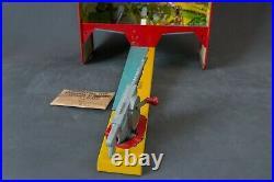 Marx National Defense Machine Gun Target Practice tin litho