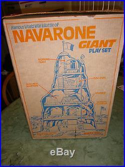 Marx Navarone 4302 playset 100% Complete