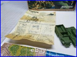 Marx Navarone Battleground Playset Original 100 Percent 1970's