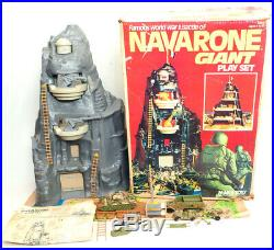Marx Navarone Giant Playset In Original Box, From 1977, Lot 67