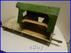 Marx No. 5968 Happi Time Mechanized Platform Barn Farm Set Vintage 1961. RARE