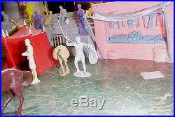Marx Official Ben Hur Play Set Series 5000 Box # 4701 (the Big Set) Rare Rare