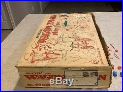 Marx Official Wagon Train Play Set Box#4788