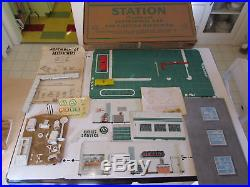 Marx Old Toy Store Cities Service Tin Litho Service Gas Station Mib Very Rare