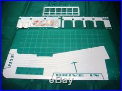Marx Old Toy Store Stock Super Service Tin Litho Gas Service Station Mib Rare
