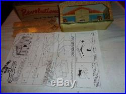 Marx Orig. Rev War play set 3404 series 1000 Excellent to Near Mint