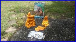 Marx Original COMANCHE PASS MOUNTAIN with BOX Fort Apache Western playset