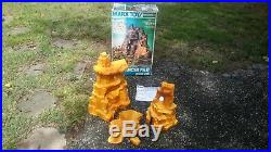 Marx Original COMANCHE PASS MOUNTAIN withBox Fort Apache Western playset