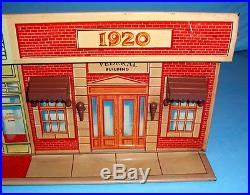 Marx Original Untouchables Tin Storefront 1961 NR