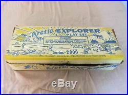 Marx Original-Vintage Arctic Explorer Playset #3702
