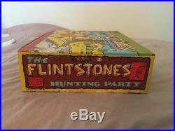 Marx Original-Vintage The Flintstones Hunting Party Playset #2288