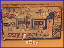 Marx Petshop Playset #4210 1953 MIB